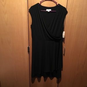 NWT Coldwater Creek knee length wrap dress size 14